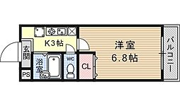 JTトキジン(ジェイティートキジン)[206号室号室]の間取り