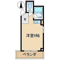 スクーデリア立花[3階]の間取り