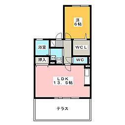 シュポールティー[1階]の間取り