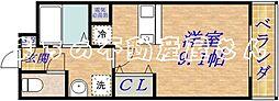 ボルサーロ[2階]の間取り