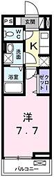 ルミエール・メゾンII[2階]の間取り