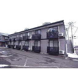 福島県郡山市富田東3丁目の賃貸アパートの外観