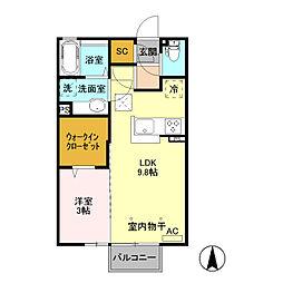 アールズ ハウス III[2階]の間取り