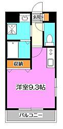 東京都練馬区南大泉4丁目の賃貸マンションの間取り