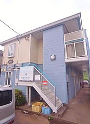 埼玉県新座市野火止5丁目の賃貸アパートの外観