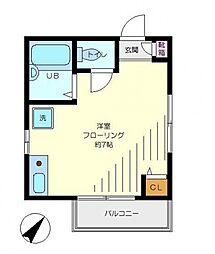 ルーチェ・富士見台[3階]の間取り