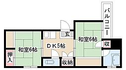 愛知県名古屋市南区氷室町一丁目の賃貸マンションの間取り
