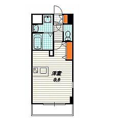 プレサンス京都五条大橋レジェンド[5階]の間取り