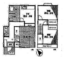 [一戸建] 神奈川県横浜市保土ケ谷区西久保町 の賃貸【/】の間取り