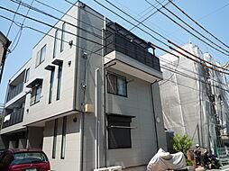 東京都大田区東六郷3丁目の賃貸アパートの外観