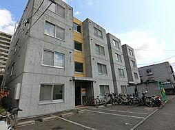 北海道札幌市白石区南郷通20丁目の賃貸マンションの外観