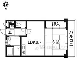 山城多賀駅 3.9万円