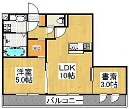 ディアマンテ[3階]の間取り