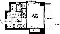 プロビデンス栄南[9階]の間取り