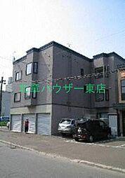 北海道札幌市東区北四十六条東1丁目の賃貸アパートの外観