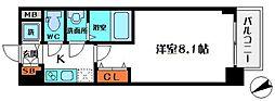 S-RESIDENCE都島[10階]の間取り