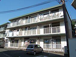 京都府宇治市五ケ庄梅林の賃貸アパートの外観