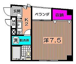 パークプレイス[2階]の間取り