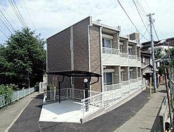 神奈川県横浜市南区三春台の賃貸アパートの外観