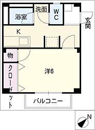 Surplusニワコ−ポ[2階]の間取り