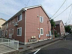 愛媛県松山市正円寺3丁目の賃貸アパートの外観