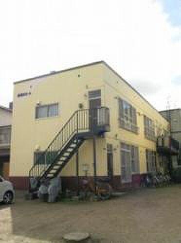 北海道札幌市豊平区豊平八条12丁目の賃貸アパートの外観