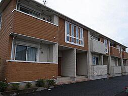 千葉県市原市惣社の賃貸アパートの外観