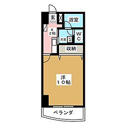 メゾンロイヤルかみとまつり[4階]の間取り