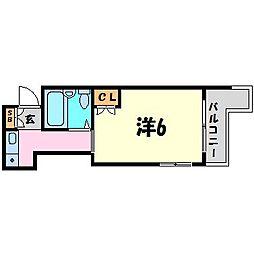ローレル西宮北口[1階]の間取り