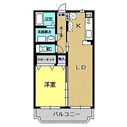 ユーミーLife II[2階]の間取り