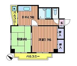 吉祥ビル[4階]の間取り