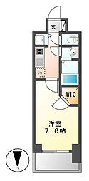 プレサンス栄ライズ[6階]の間取り