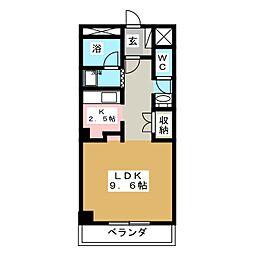 ベターアール05[4階]の間取り