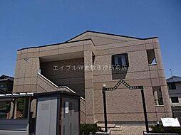 岡山県倉敷市連島町鶴新田の賃貸アパートの外観