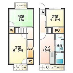 高丸ビルA棟[3階]の間取り