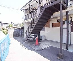 京都府京都市左京区岩倉忠在地町の賃貸アパートの外観