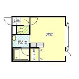 キアラ[2階]の間取り
