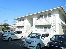 愛媛県松山市畑寺2丁目の賃貸アパートの外観