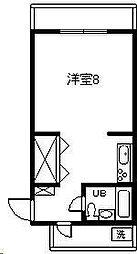 第2谷口コーポ(大字恒久)[407号室]の間取り