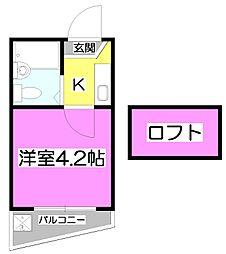 セドルハイム上福岡[2階]の間取り