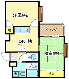 シャルマンコーポ[5階]の間取り