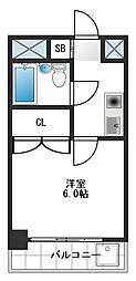 レインボーヒル桜台[406号室]の間取り