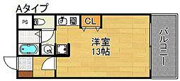 スターマンション[8階]の間取り