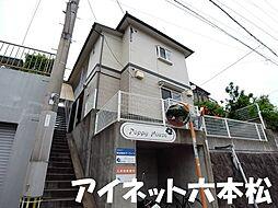 福岡県福岡市城南区友丘3丁目の賃貸アパートの外観