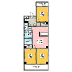 ステージ数奇屋[1階]の間取り