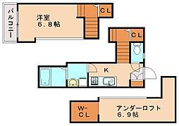 オリオンヒルズ[2階]の間取り