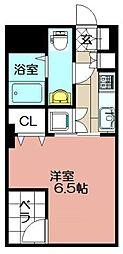 モナトリエ小倉平和通り[507号室]の間取り