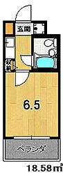【分譲】DETOM−1西陣Ⅱ[314号室]の間取り