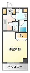 エルソル江坂[5階]の間取り