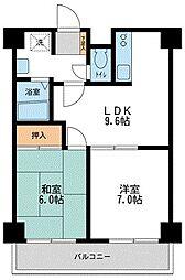 プロフィットリンク竹ノ塚[3階]の間取り